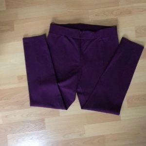 NWOT. Burgundy color pants